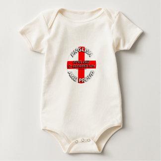 Englisch und stolz - Tag St. Georges am 23. April Baby Strampelanzug