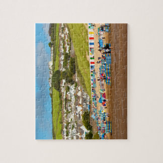 Englisch Woolacombe Strand-Puzzlespiel Puzzle