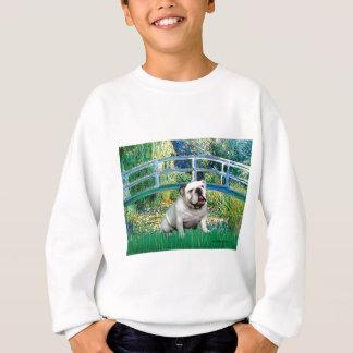Englische Bulldogge 9 - Brücke Sweatshirt