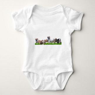Englische Bulldogge Baby Strampler