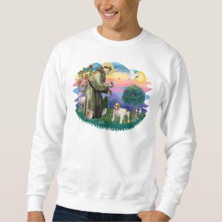Englische Bulldogge (braun-weiß) Sweatshirt