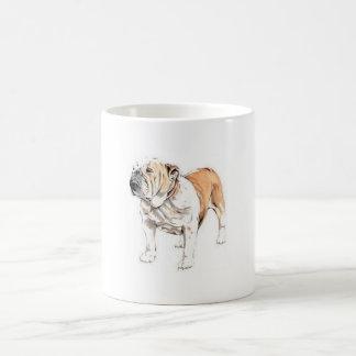 Englische Bulldogge Kaffeetasse
