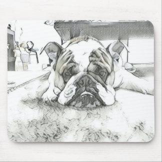 Englische Bulldogge Mousepad