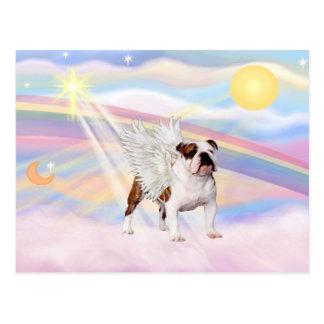 Englische Bulldogge Postkarte