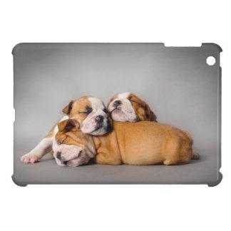 Englische Bulldogge Schlafens iPad Mini Schale