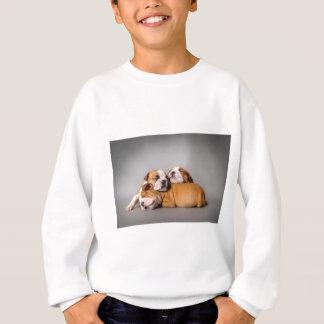 Englische Bulldogge Schlafens Sweatshirt