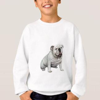 Englische Bulldogge - Weiß 1 Sweatshirt