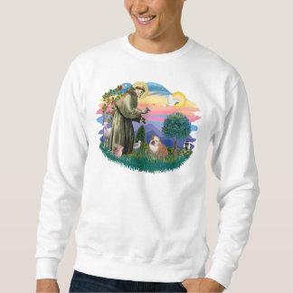 Englische Bulldogge (weiß-braun) Sweatshirt