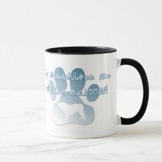 Englische Bulldoggen-Enkelkind-Tasse Tasse