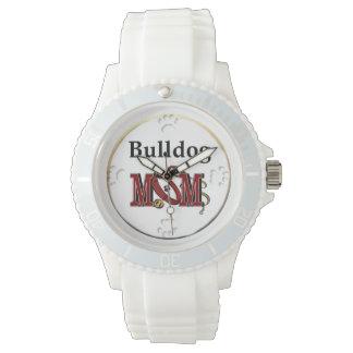 Englische Bulldoggen-Mamma-Geschenke Armbanduhr