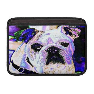 Englische Bulldoggen-Pop-Kunst Sleeve Fürs MacBook Air