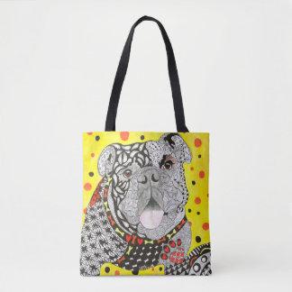 Englische Bulldoggen-Taschen-Tasche Tasche