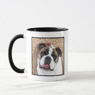 Englische Bulldoggen-Tasse Tasse
