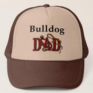 Englische Bulldoggen-Vati-Geschenke Truckerkappe