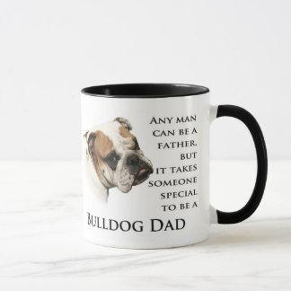 Englische Bulldoggen-Vati-Tasse Tasse