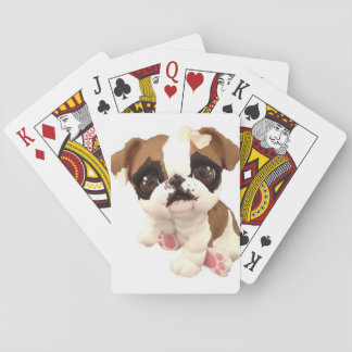 englische Bulldoggenkarten Spielkarten