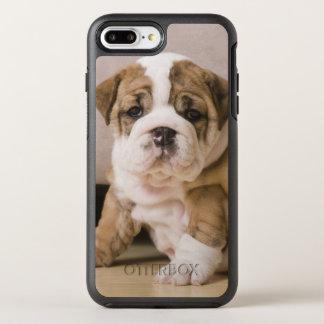 Englische Bulldoggenwelpen OtterBox Symmetry iPhone 8 Plus/7 Plus Hülle