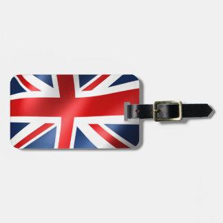 Englische Flagge für Gepäck-Umbau-Leder-Bügel Gepäckanhänger
