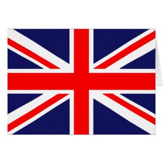 Englische Flagge Karte
