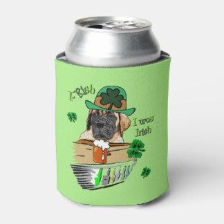 Englische Geschenke Mastiff-St. Patricks Tages Dosenkühler