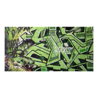 Englische Graffiti, London, Großbritannien Fotokarten