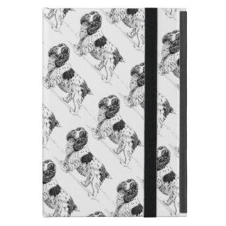 Englische jagenvogel-Hunde Springerspaniel-| iPad Mini Etuis
