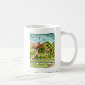Englische Land-Hütte Kaffeetasse