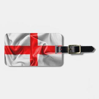 Englische Querflagge St. Georges Gepäckanhänger
