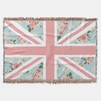 Englische Rosen-Gewerkschafts-Jack-Flagge Decke
