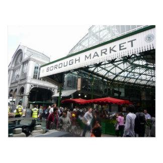 Englische Szenen, Stadt-Markt, London Postkarte