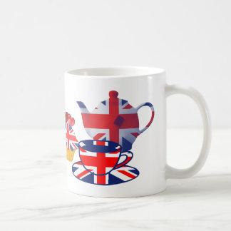 Englische Tee-Zeitgeschenke Kaffeetasse