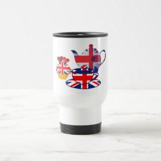 Englische Tee-Zeitgeschenke Reisebecher