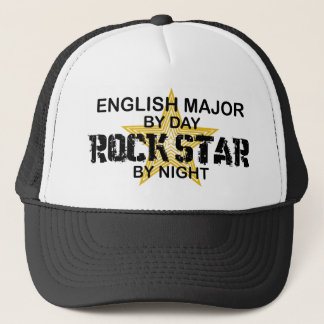 Englischer bedeutender Rockstar Truckerkappe