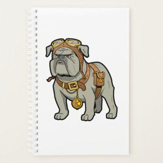 Englischer Bulldogge PILOT Planer