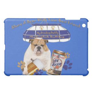 Englischer Bulldoggen-Anteil eine Bier IPAD iPad Mini Hülle