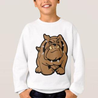 Englischer Bulldoggen-Cartoon Sweatshirt