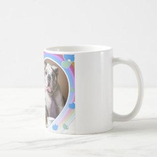 Englischer Bulldoggen-Entwurf Kaffeetasse