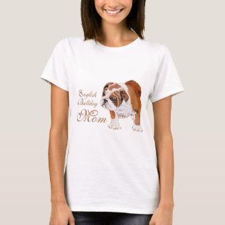 Englischer Bulldoggen-Mutter-Tag T-Shirt