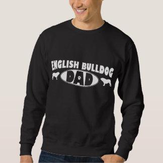 Englischer Bulldoggen-Vati Sweatshirt