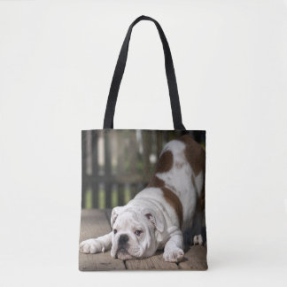 Englischer Bulldoggen-Welpe Tasche