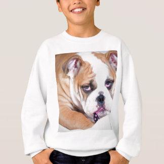 Englischer Bulldoggenwelpe Sweatshirt