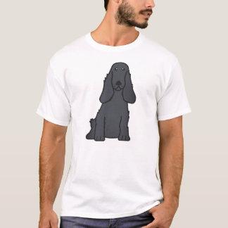 Englischer Cockerspaniel-HundeCartoon T-Shirt