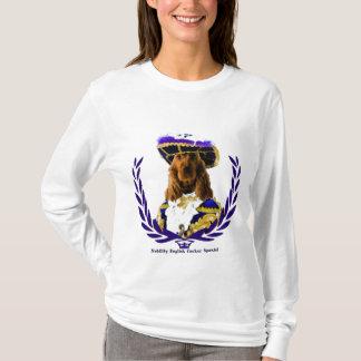 Englischer Cockerspaniel-T - Shirt-Adel Brown T-Shirt