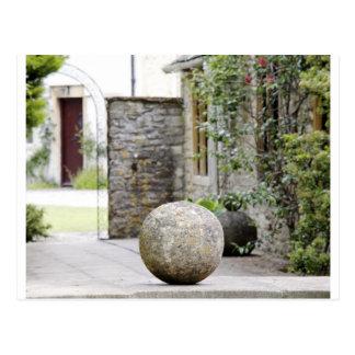 Englischer Garten - Steinball Postkarte