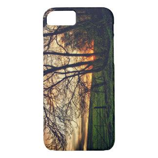 Englischer Landschafts-Sonnenuntergang HDR iPhone iPhone 8/7 Hülle