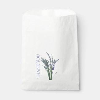 Englischer Lavendel-Bevorzugungs-Tasche Geschenktütchen