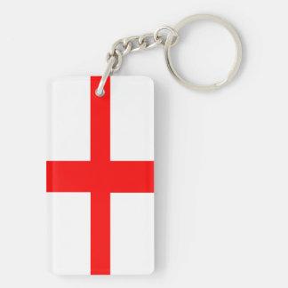 englischer Namenstext des langen Symbols Schlüsselanhänger
