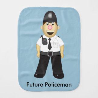 Englischer Polizistburp-Stoff Spucktuch