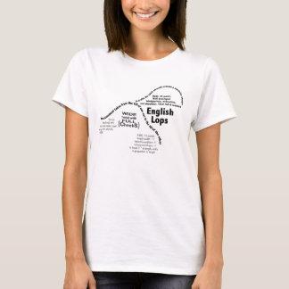 Englischer Schmierölniederdruck-Kaninchen-T - T-Shirt