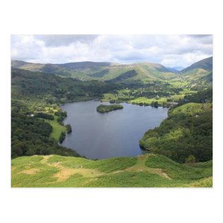 Englischer See-Bezirk Postkarte